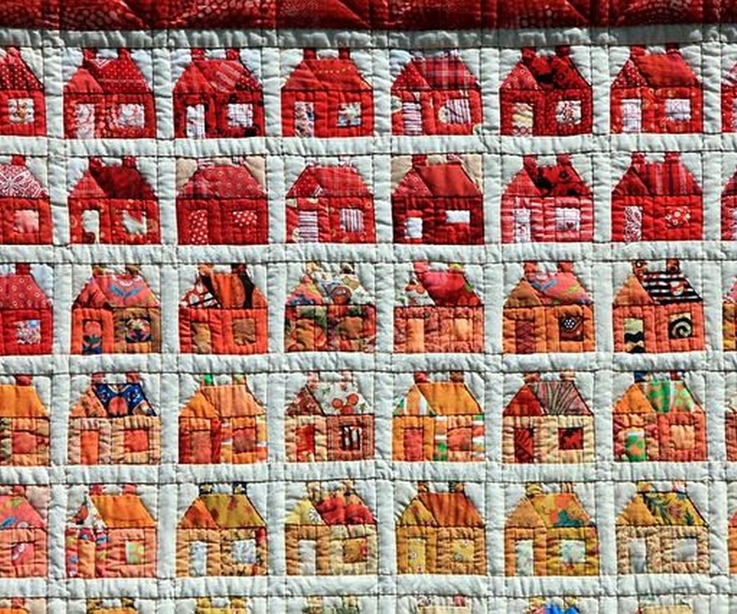 La almazuela, el patchwork español