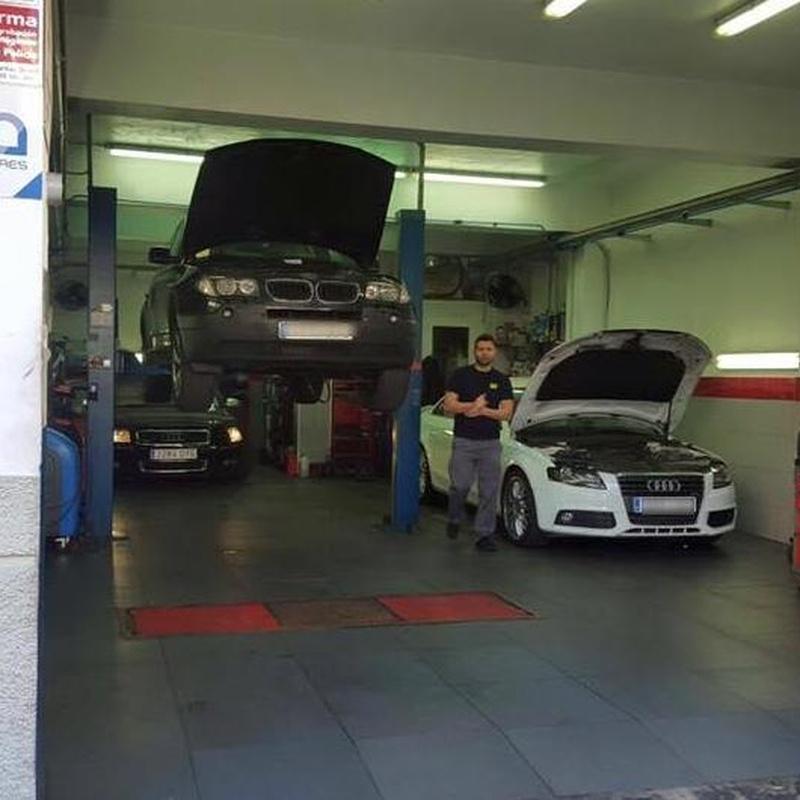 Reparación multimarca: Servicios de Talleres Piñero