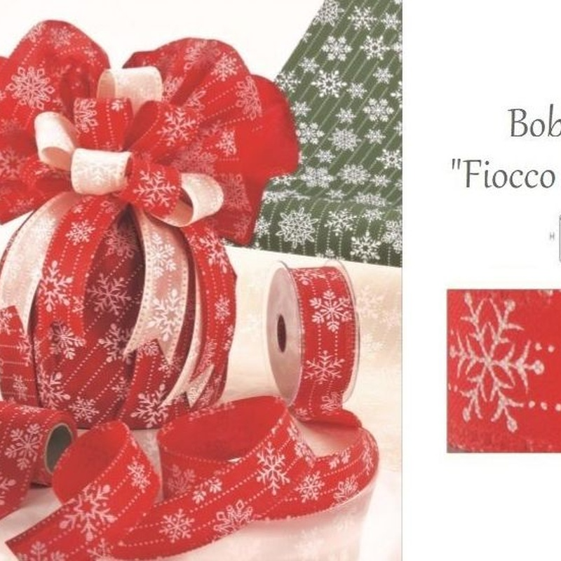 """BOBINA MODELO """"Fiocco di Neve"""" 530MM x 9MT REF: 0053 PRECIO: €"""