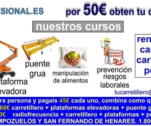 Ofertas cursos en Madrid