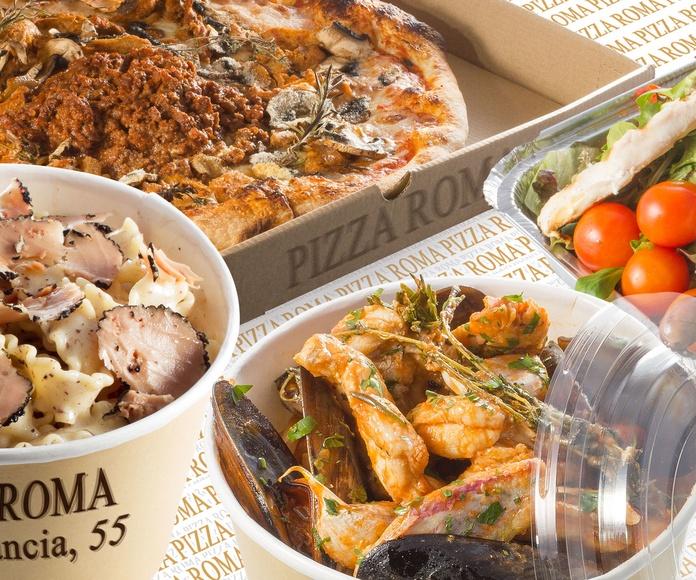 TUTTO È FATTO IN CASA E BASTA: Carta de Pizza Roma