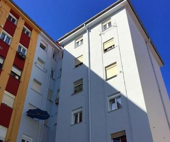 Tratamientos con andamios y revestimiento de edificios en Cantabria. : Trabajos verticales Santander  de Trabajos Verticales Cantabria