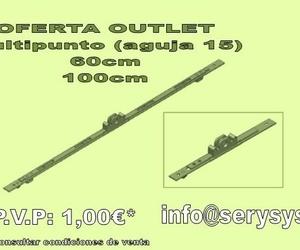 Oferta Outlet Multipunto ( aguja 15 )  - OFERTA AGOTADA