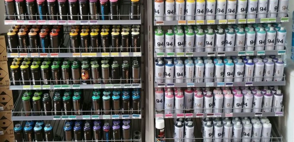 Spray para graffiti en Valencia