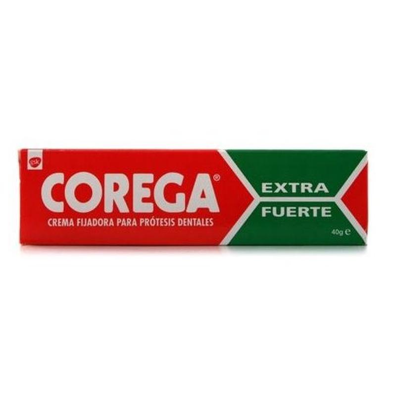 Corega crema extra fuerte: Catálogo de Farmacia Las Cuevas-Mª Carmen Leyes