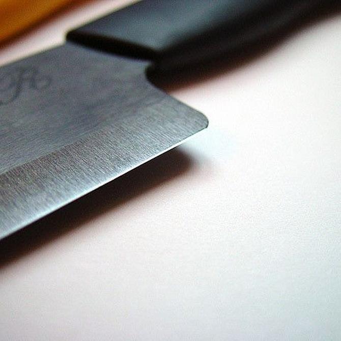 Consejos para utilizar cuchillos de hoja cerámica