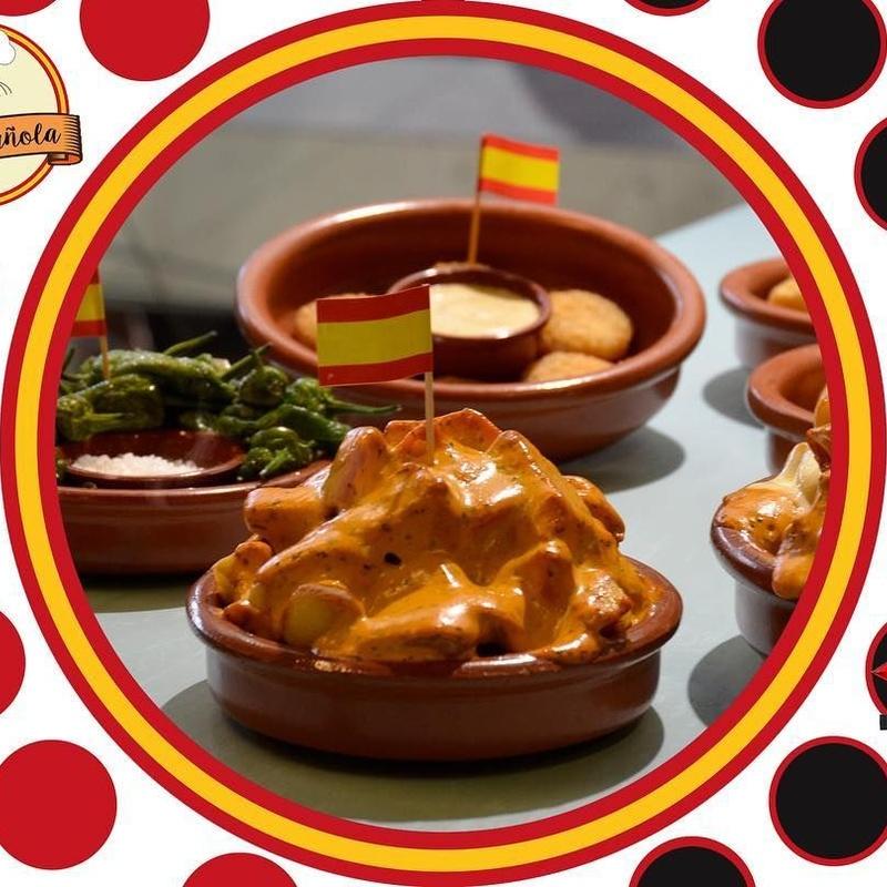 Patatas bravas: Tapas de Tapa Española