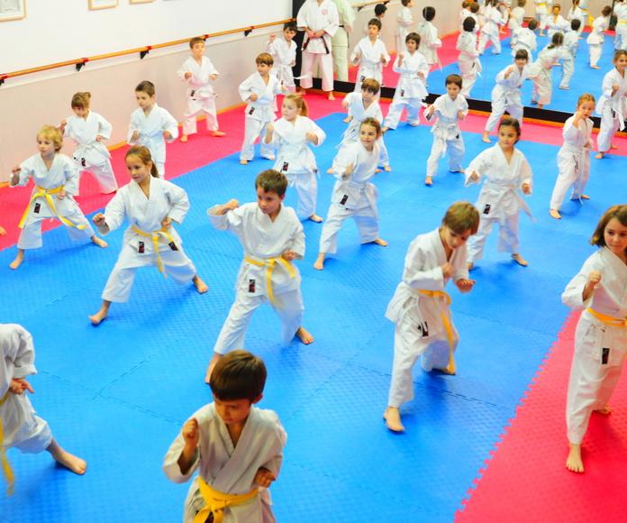 Clases de karate para niños en Dojo Sant Gervasi