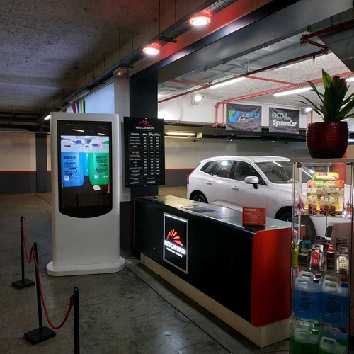 Venta de productos para coches