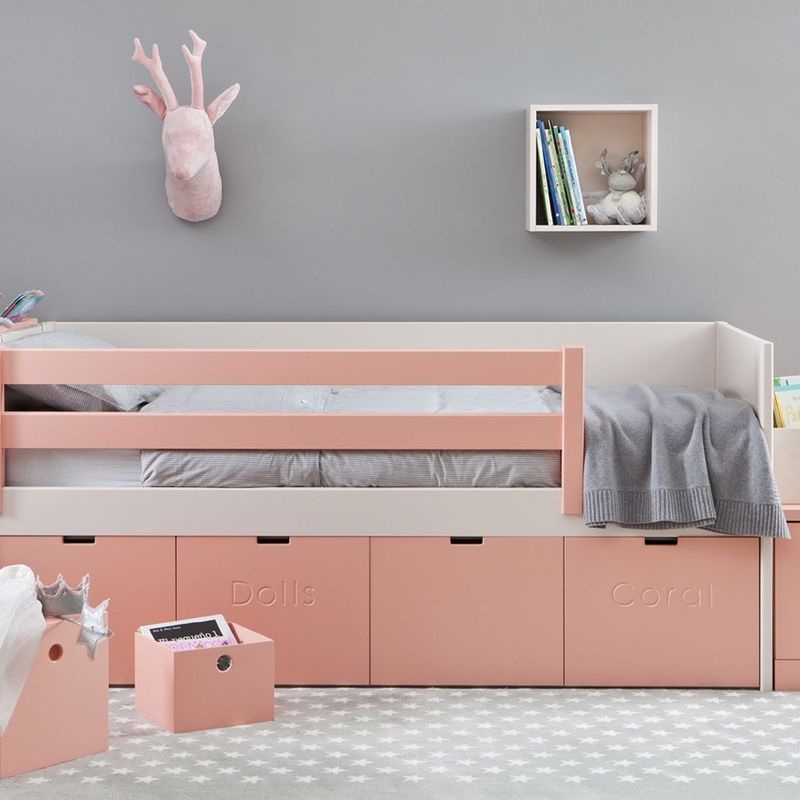 Cama nido juguetero modelo Liso: Colecciones de El Cuarto de Micky