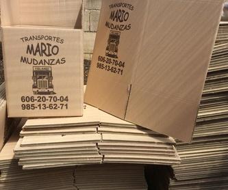 MANTAS DE MUDANZA: Nuestros Servicios de Transportes y Mudanzas Mario