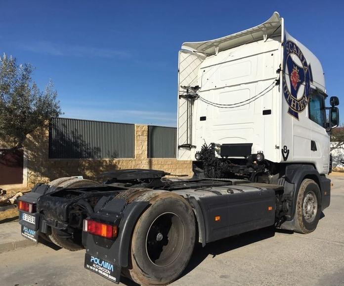 SCANIA 144L 460 V8: Vehículos industriales de Emirtrucks Trading