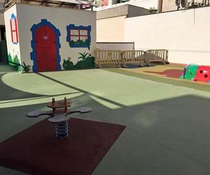 Zona de juegos de nuestra escuela infantil en Palma de Mallorca