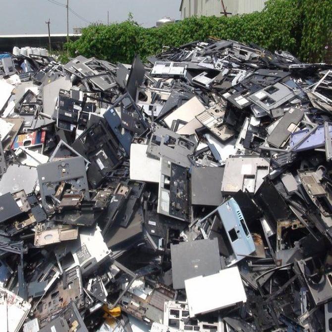 El reciclaje de los residuos electrónicos, la asignatura pendiente