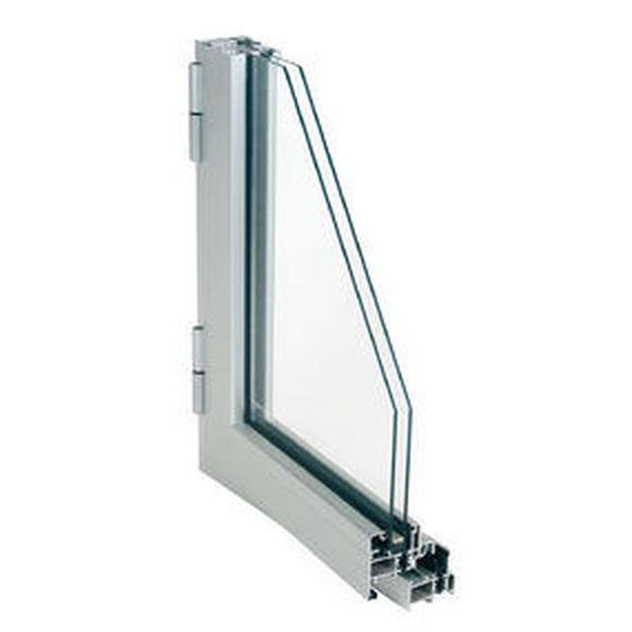 Ventana practicable, serie 25: Productos y servicios de Metal Masa, S.L.