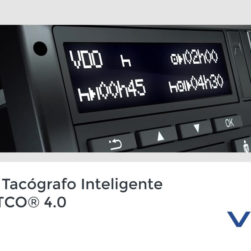 1. Tacógrafo INTELIGENTE VDO 1381 4.0: Catálogo de Auto-Electricidad Maracena