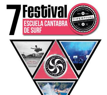 7 Festival Escuela Cántabra de surf.