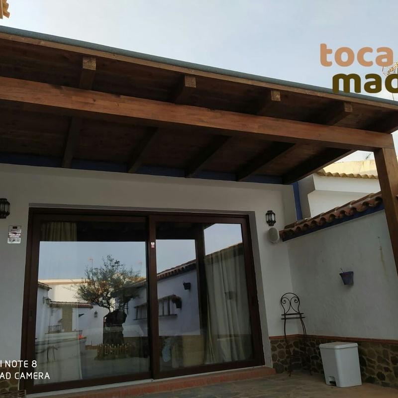 Porche de madera: Productos y materiales de Toca Madera