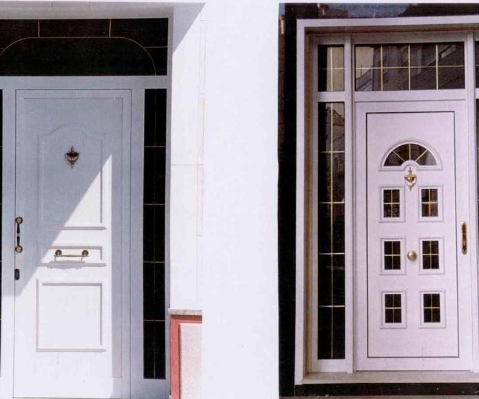 Puertas de entrada de aluminio : Productos y servicios de Metal Masa, S.L.