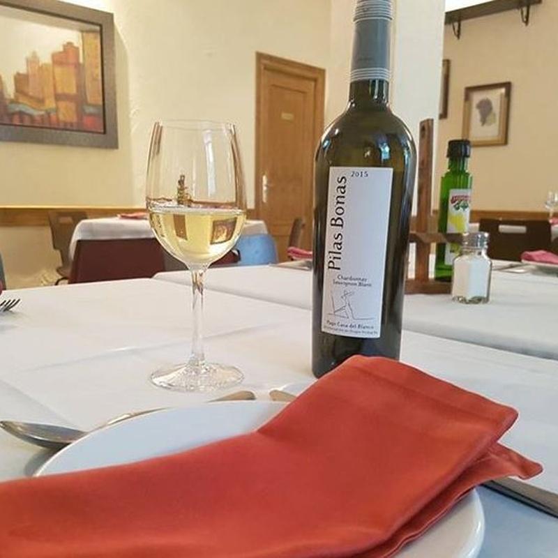 Vinos blancos: Carta de Restaurante La Manduca