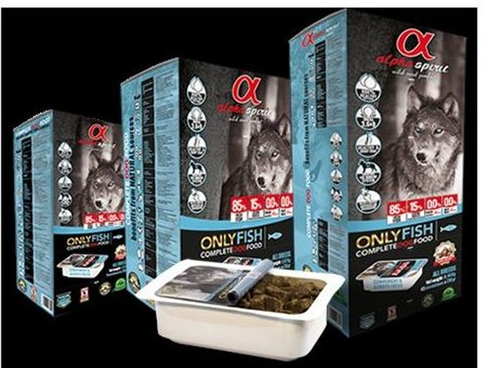 Alpha Spirit only fish para perros Comprar en Madrid }}