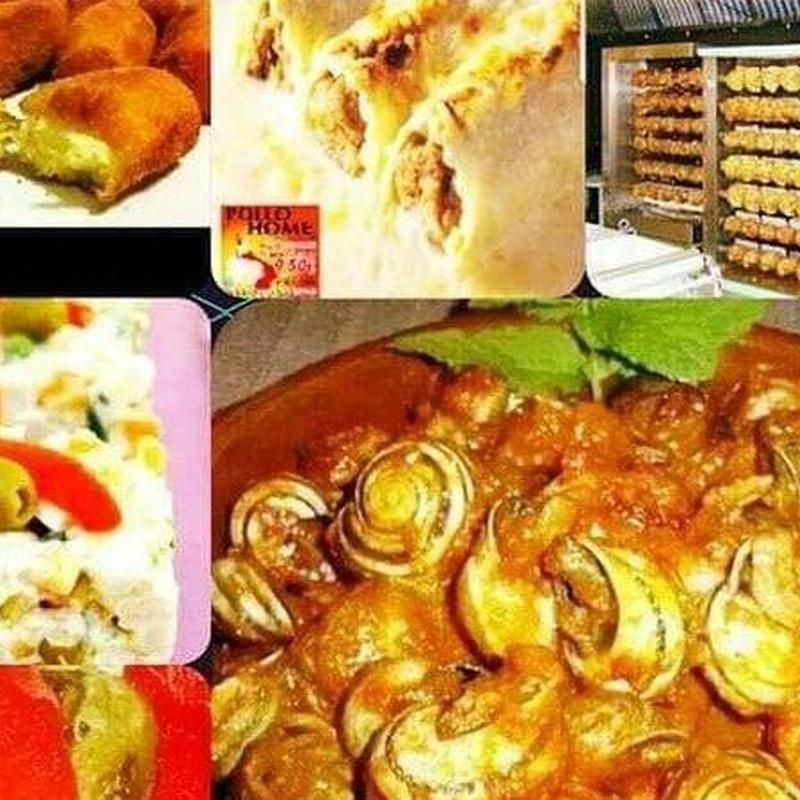 Comida preparada a domicllio: Productos y servicios de Pollo Home