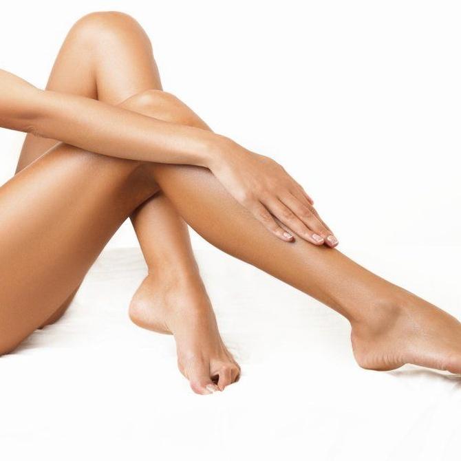 Cuidado de la piel tras la depilación con cera