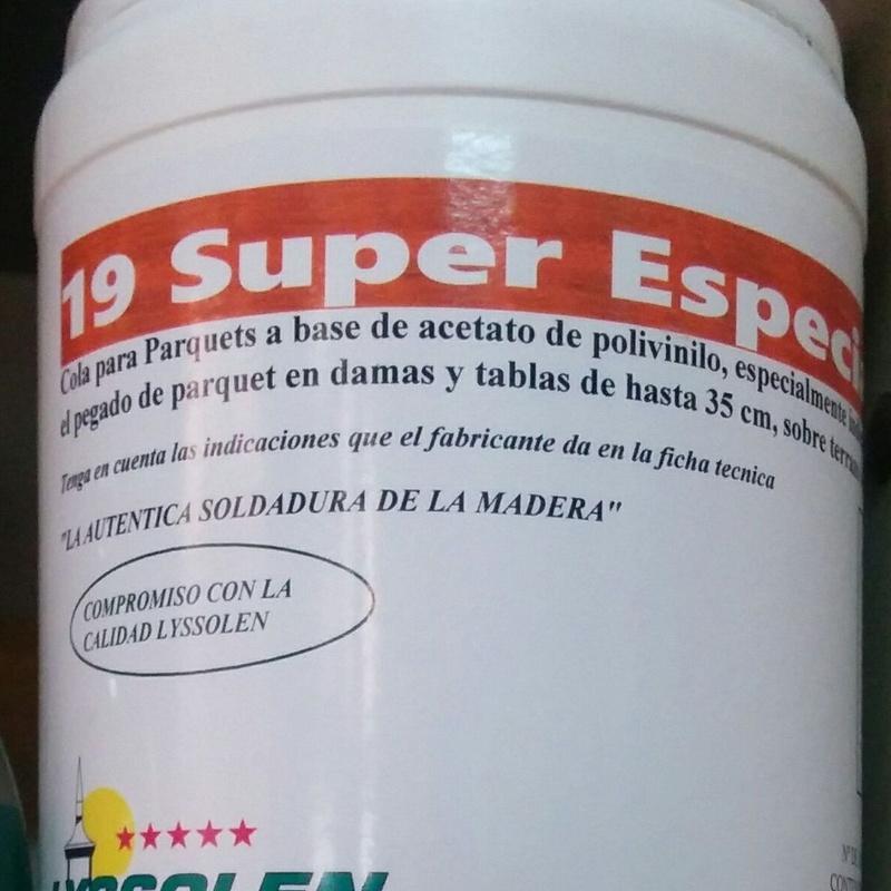 Cola para parquets 19 Super Especial: Productos y Servicios de Miguel Angel Peña - Eparquet