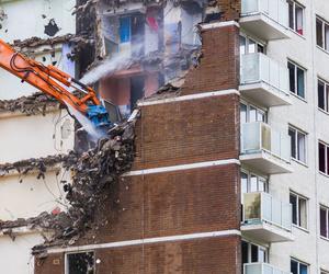 Derribo de edificaciones