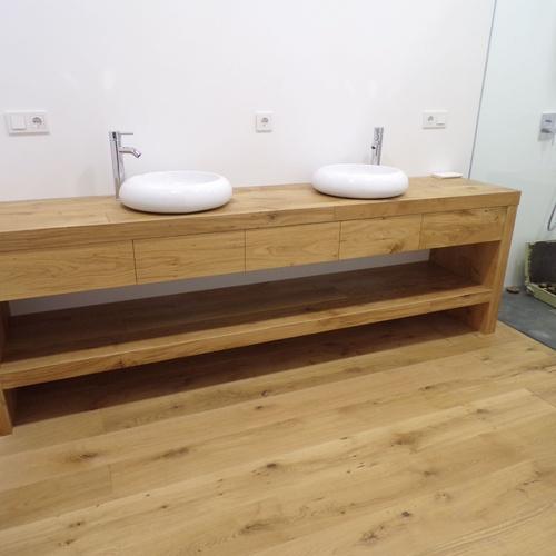 Mueble de baños con 2 senos