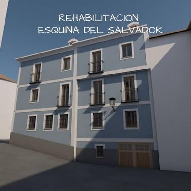 La Esquina del Salvador: Alfaro Arquitecto de Alfaro Arquitecto 3A3, S.L. Tlf: 606406555