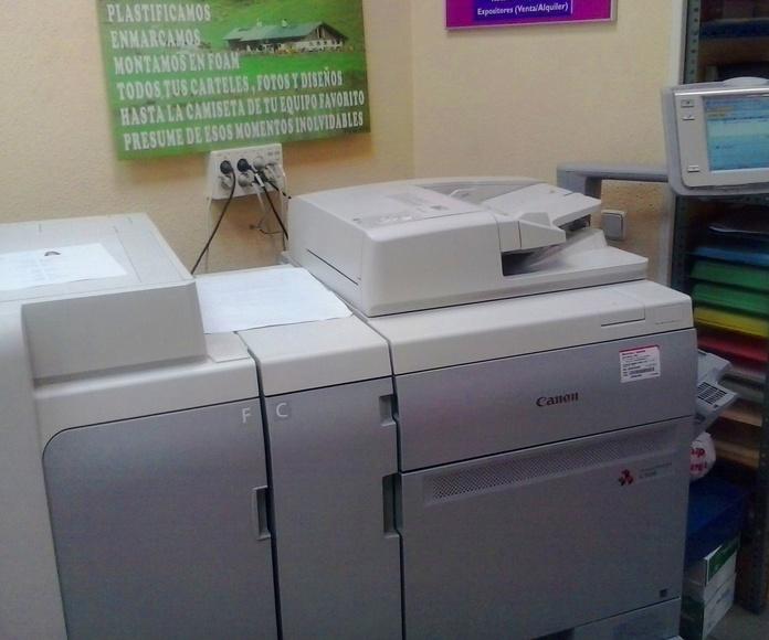 Fotocopia pequeño formato en Blanco y Negro y Color: Productos y servicios de Copias Pradillo