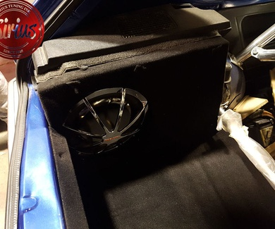 VW Golf mk1 GTI - Maletero