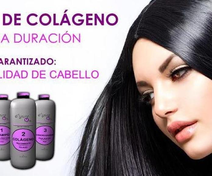 Tratamiento de colageno para el cabello: Servicios y Productos de Javier Peluqueros Tapia De Casariego-Navia