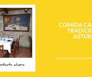 Cocina asturiana en Avilés | Casa Carreño con  Los Fogones de Dani