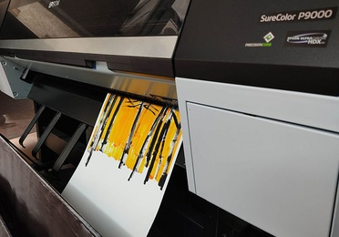 Impresión digital en Hahnemühle