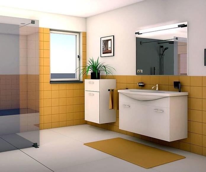 Diseño 3D de cocinas y baños: Productos y Servicios de Expomat Alcover S.L.