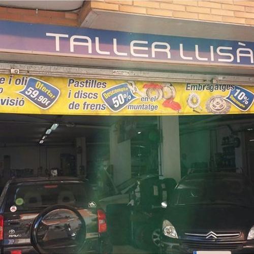 Taller de automóviles en Mataró