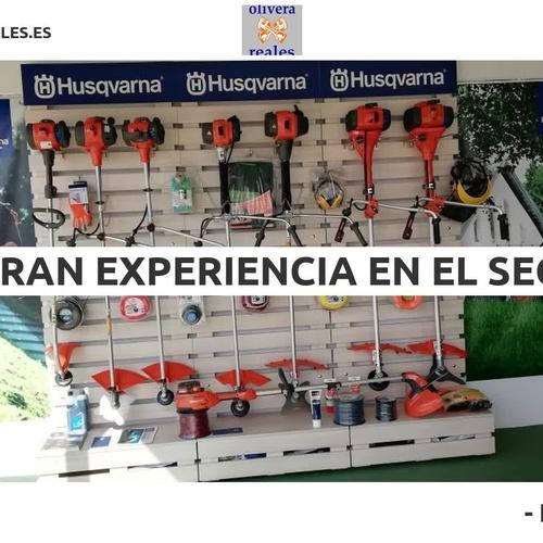 Maquinaria de jardinería en Zafra | Olivera Reales