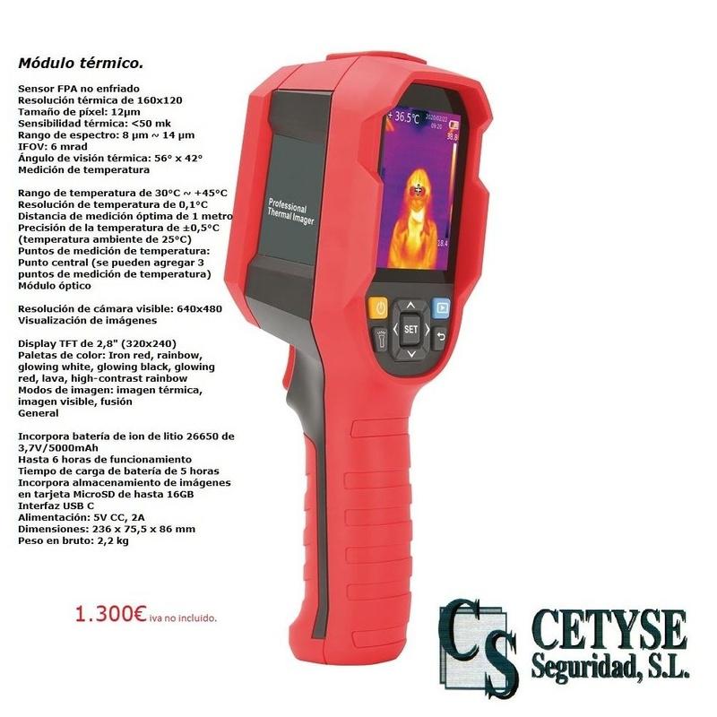 Control de Temperatura: Servicios de Cetyse Seguridad