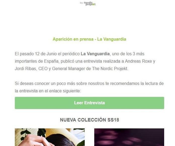 A la Vanguardia parlen de les ulleres NordicVision que tenim a la Farmàcia