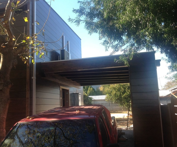 casa de madera moderna cortelima
