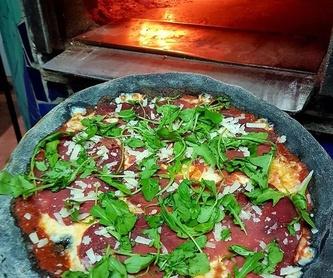 Ensaladas: Carta de Pizzería Oasis