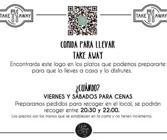 Carta de vinos: Carta de Restaurante La Yaya