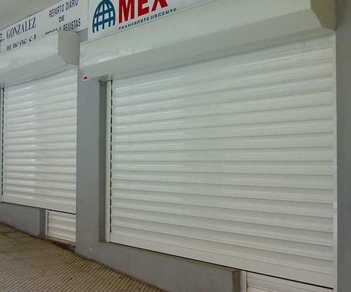 Persianas de seguridad Oviedo