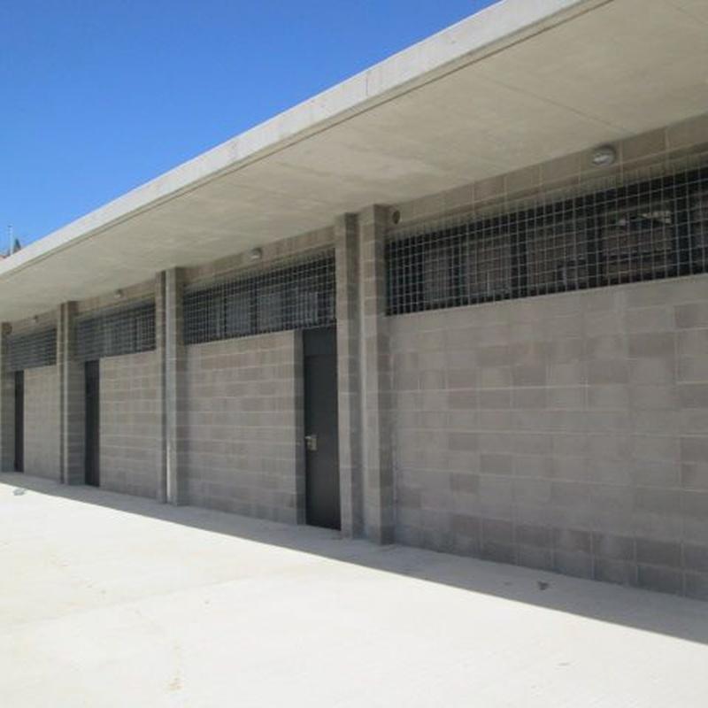 Dirección de obra nuevo campo de fútbol de Sant Genís: Trabajos de MasterPlan