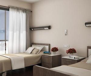 Habitación de nuestra residencia de tercera edad en Girona
