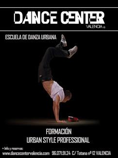 Formación profesional Danza Urbana URBAN STYLE PROFESSIONAL
