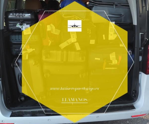Taxi de 7 plazas en Vigo | Taxi Aeropuerto Mercedes