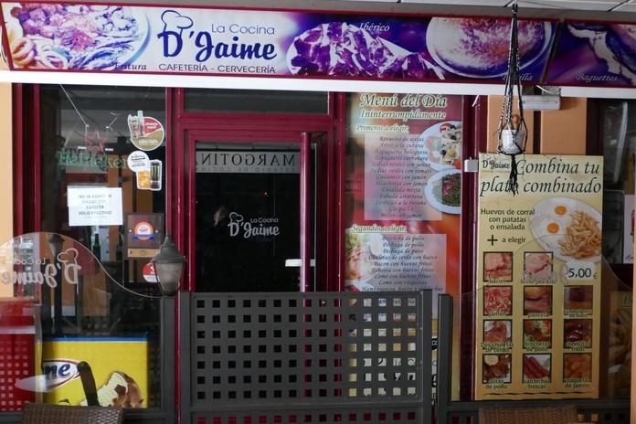 La Cocina D'Jaime: Nuestros locales de Zoco Villalba